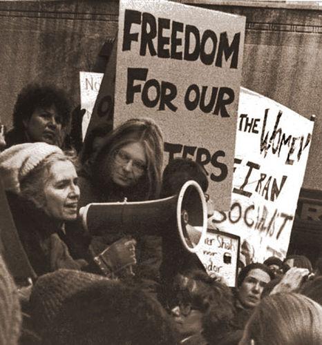 gracepaley y Gloria Steinem