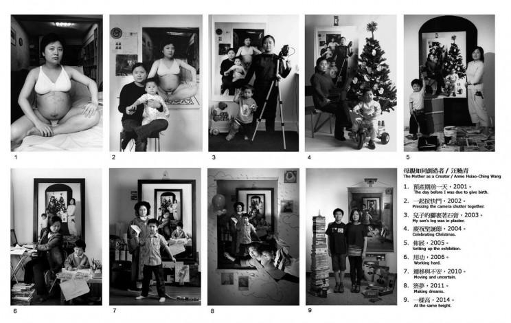 La fotógrafa Annie Wang retrató durante 17 años cómo crecía su hijo.