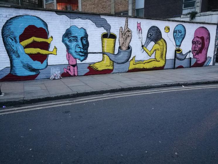 Carnival of the weird, Brick Lane, London, 2017