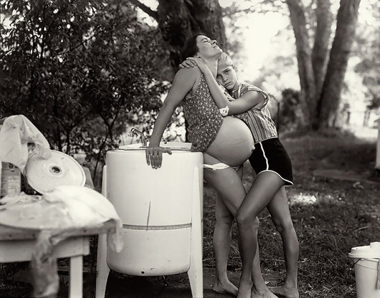 Sally Mann, from Aperture, Mothers & Daughters, 1987