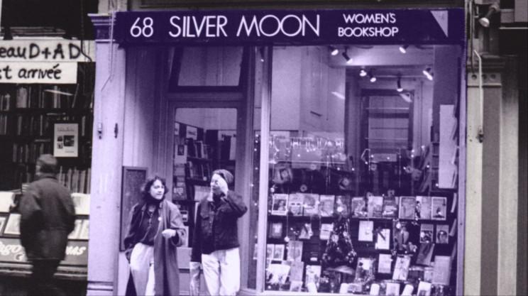 La legendaria librería feminista Silver Moon de Charing Cross en Londres.